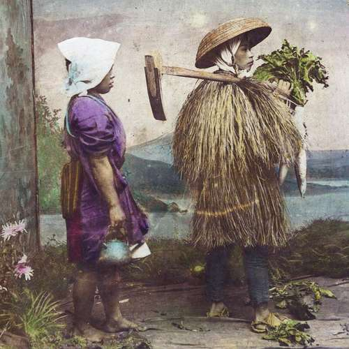 A Farmer and his Wife