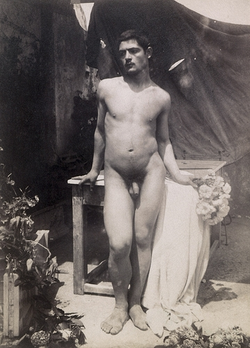 Erotic nude male photos ca 1900