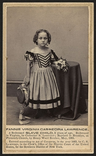 Kellogg Brothers Fannie Virginia Casseopia Lawrence 1863 Ca Carte De Visite Library Of Congress Prints And Photographs Division Call Number LOT 14022