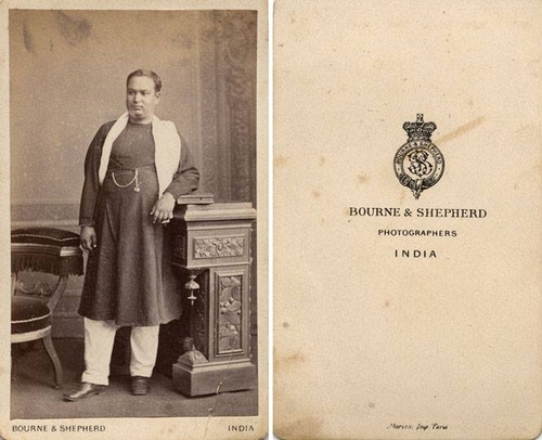 Portrait Of A Indian Man Nd Carte De Visite Private Collection Carl Mautz LL 73967